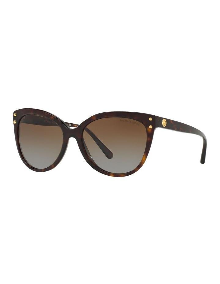 Brown Round Sunglasses 0MK2045 1515416002 P image 1