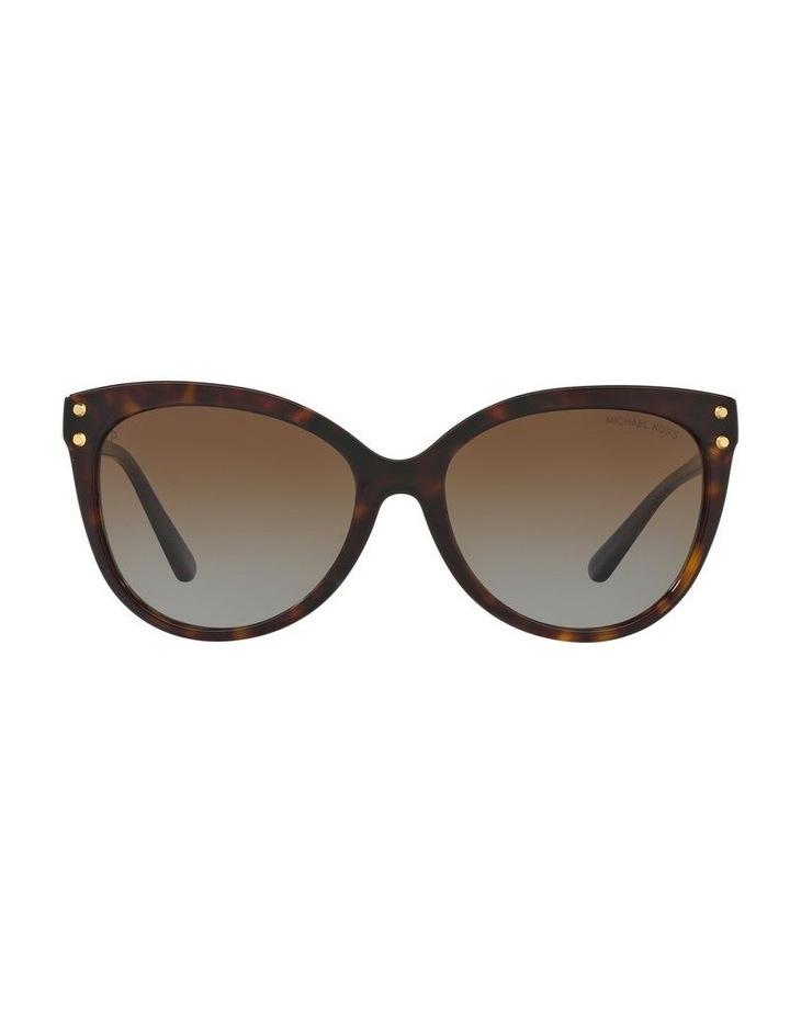 Brown Round Sunglasses 0MK2045 1515416002 P image 2