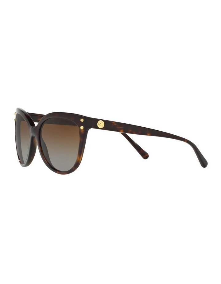 Brown Round Sunglasses 0MK2045 1515416002 P image 3