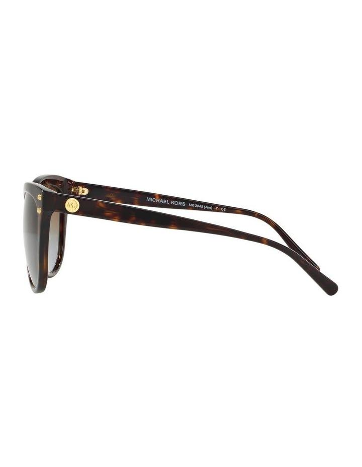 Brown Round Sunglasses 0MK2045 1515416002 P image 4