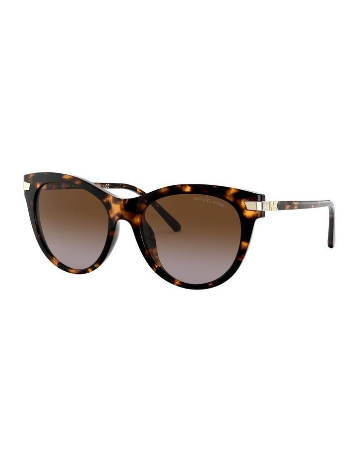 Brown Round Sunglasses 0MK2112U 1526443003 image 1
