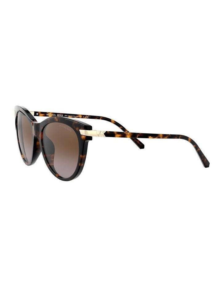 Brown Round Sunglasses 0MK2112U 1526443003 image 3
