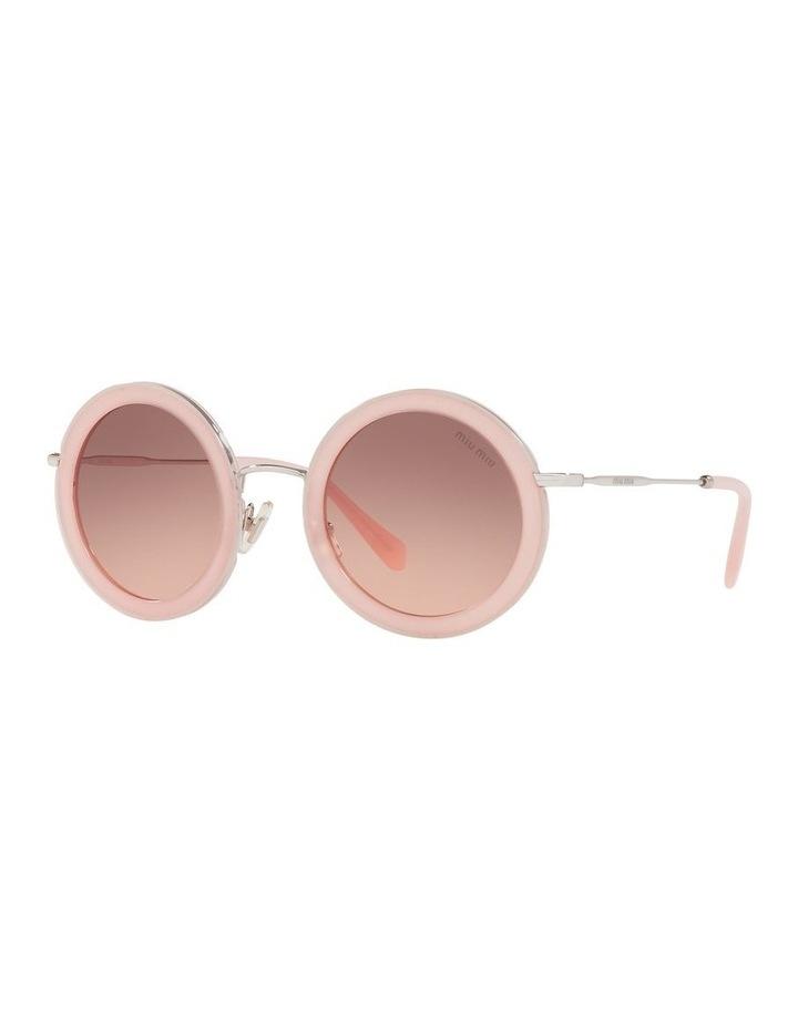 Brown Round Sunglasses 0MU 59US 1523644001 image 1