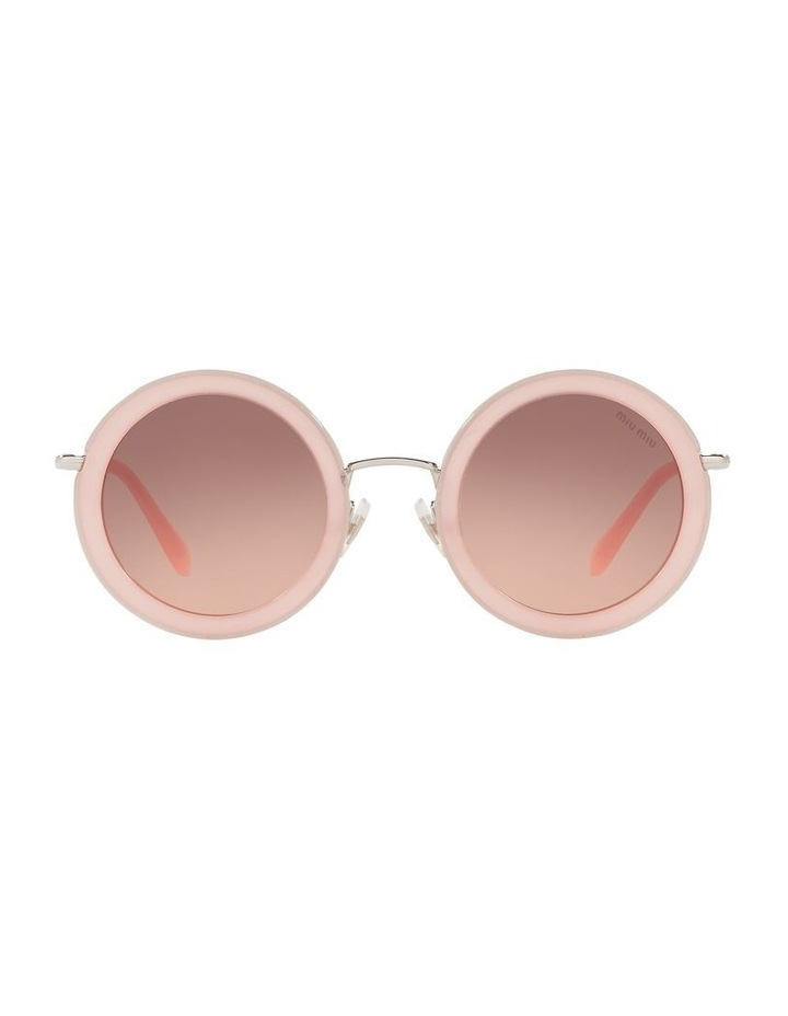 Brown Round Sunglasses 0MU 59US 1523644001 image 2