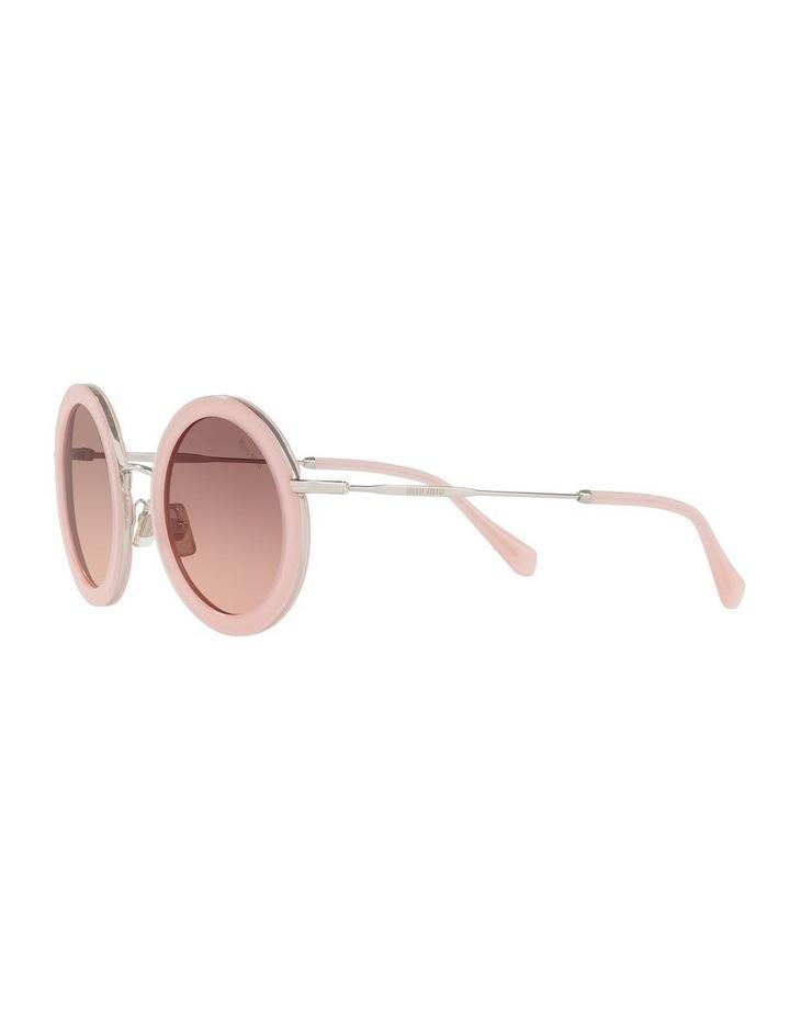 Brown Round Sunglasses 0MU 59US 1523644001 image 3