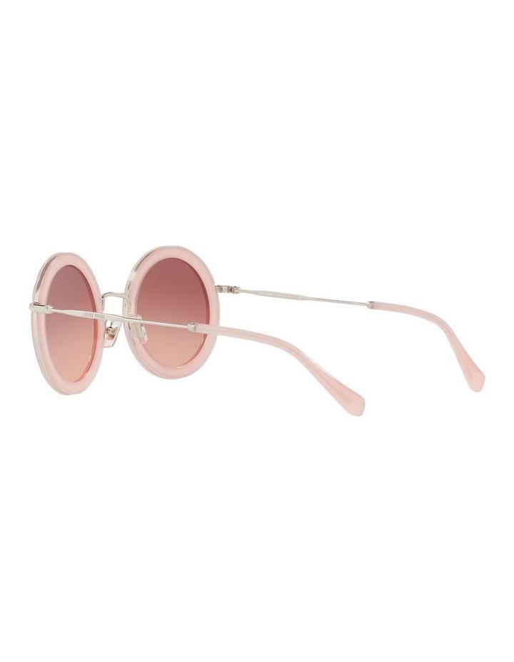 Brown Round Sunglasses 0MU 59US 1523644001 image 5