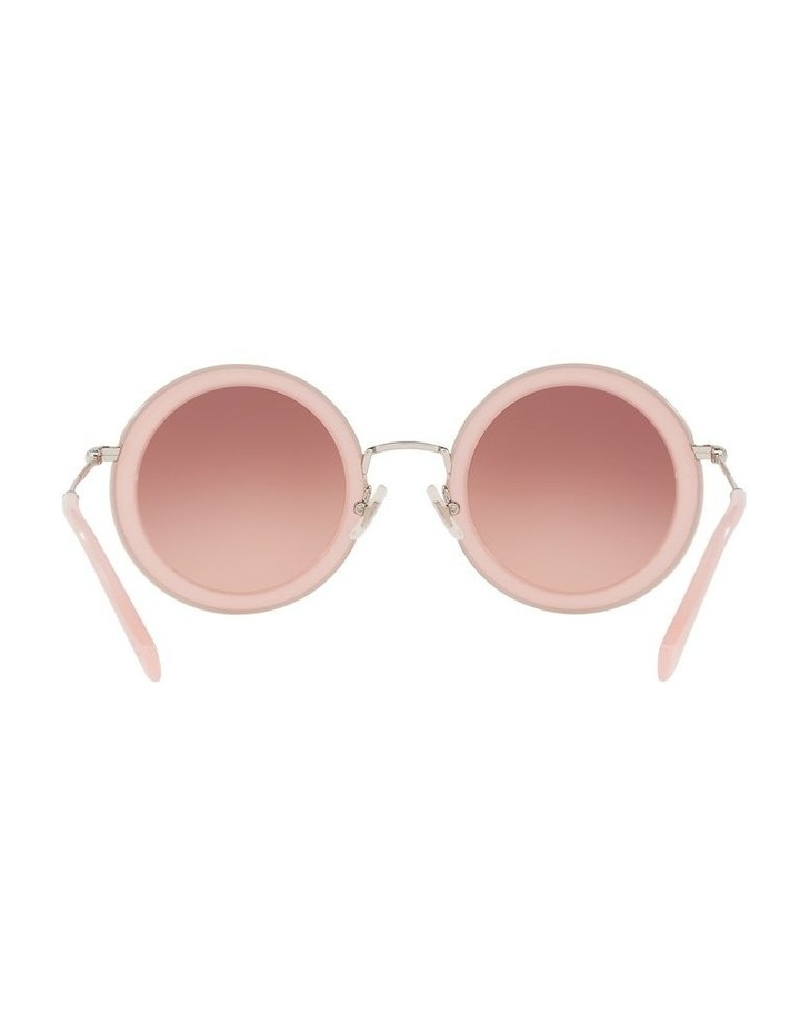 Brown Round Sunglasses 0MU 59US 1523644001 image 7