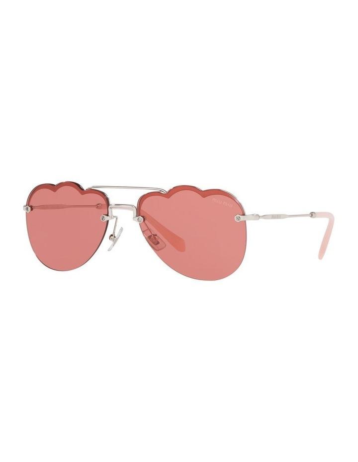 Pink Aviator Sunglasses 0MU 56US 1523645002 image 1