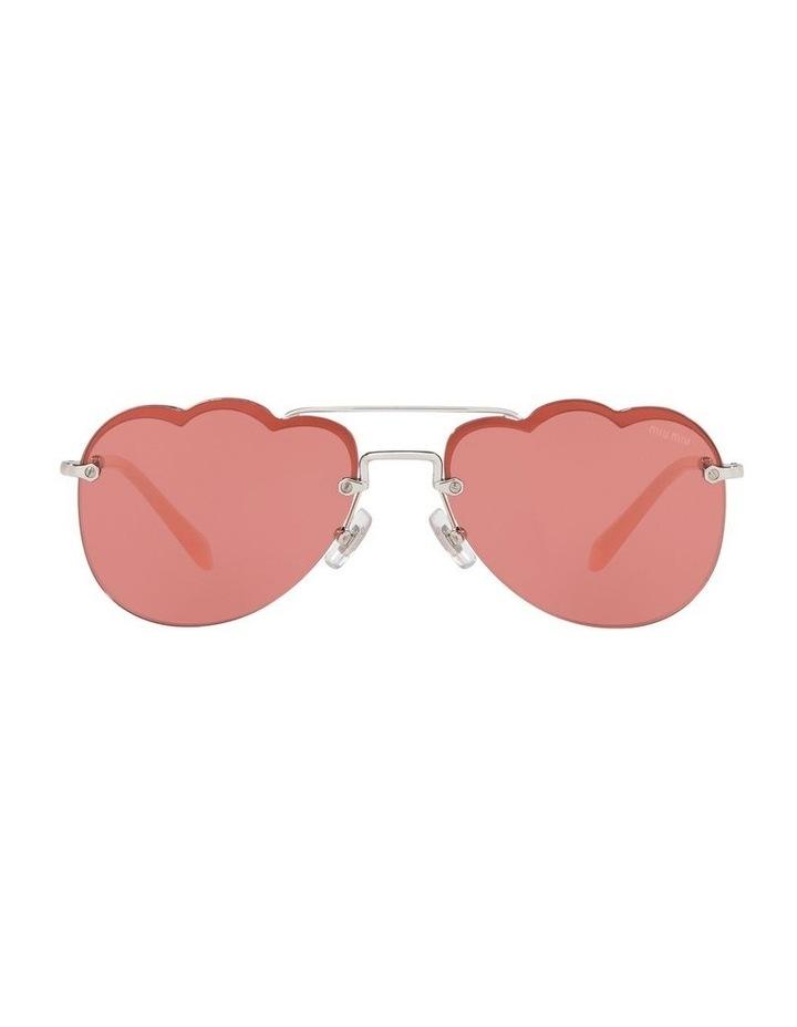 Pink Aviator Sunglasses 0MU 56US 1523645002 image 2
