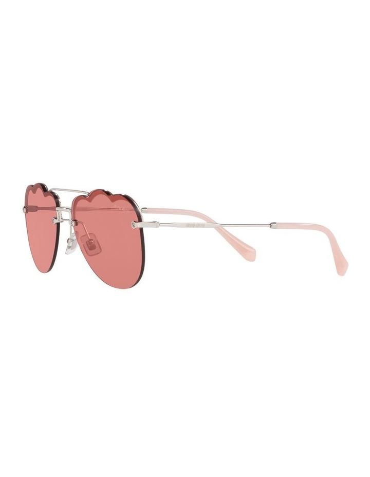 Pink Aviator Sunglasses 0MU 56US 1523645002 image 3