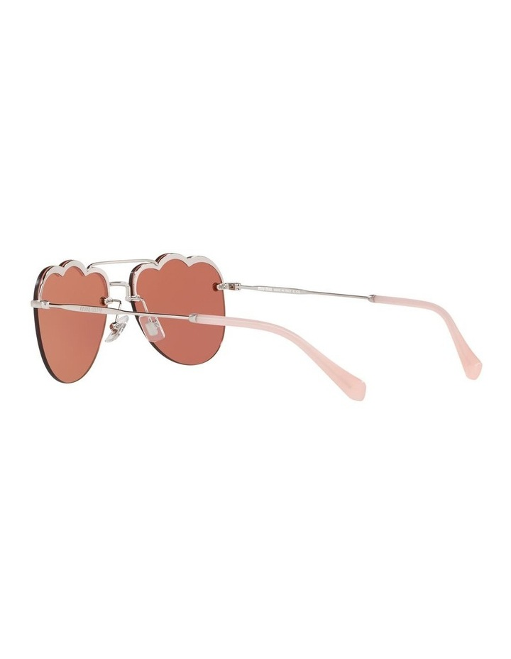 Pink Aviator Sunglasses 0MU 56US 1523645002 image 5