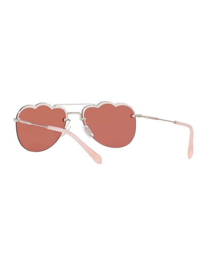 Pink Aviator Sunglasses 0MU 56US 1523645002 image 6