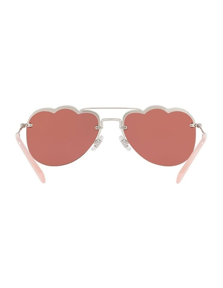 Pink Aviator Sunglasses 0MU 56US 1523645002 image 7