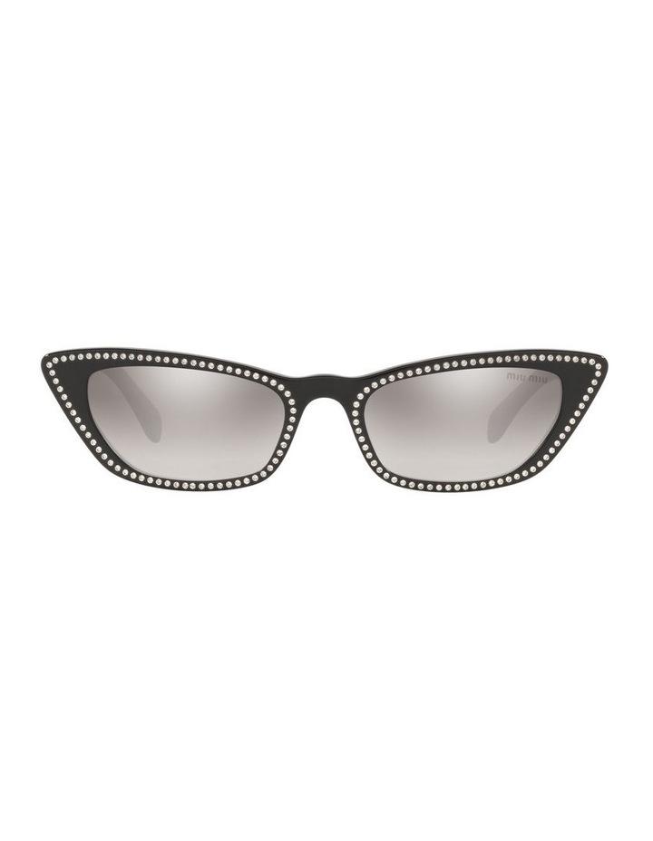 Grey Cat Eye Sunglasses 0MU 10US 1524425001 image 2