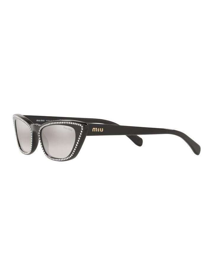 Grey Cat Eye Sunglasses 0MU 10US 1524425001 image 3