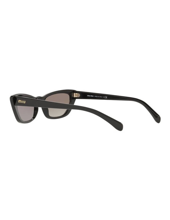 Grey Cat Eye Sunglasses 0MU 10US 1524425001 image 5