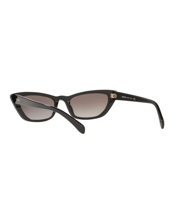 Grey Cat Eye Sunglasses 0MU 10US 1524425001 image 6