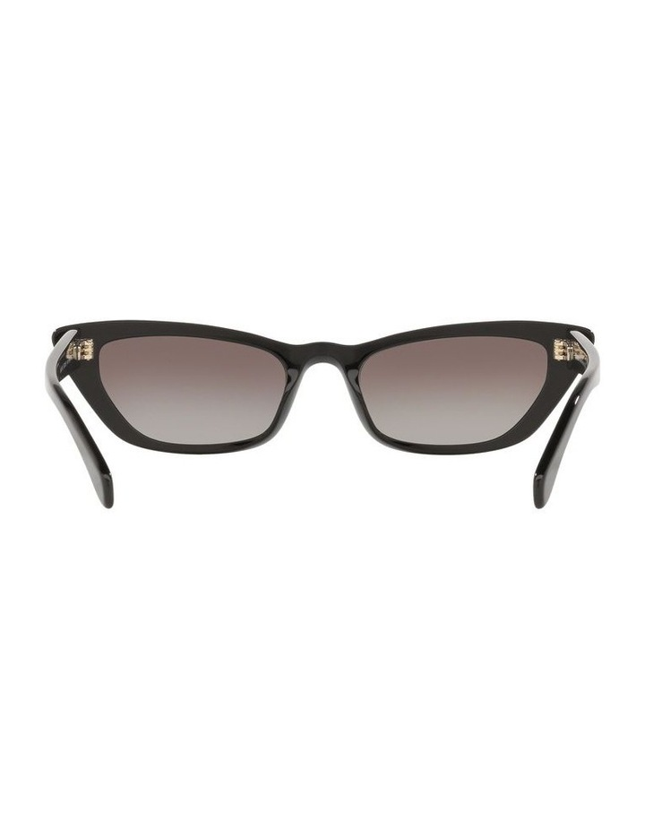 Grey Cat Eye Sunglasses 0MU 10US 1524425001 image 7