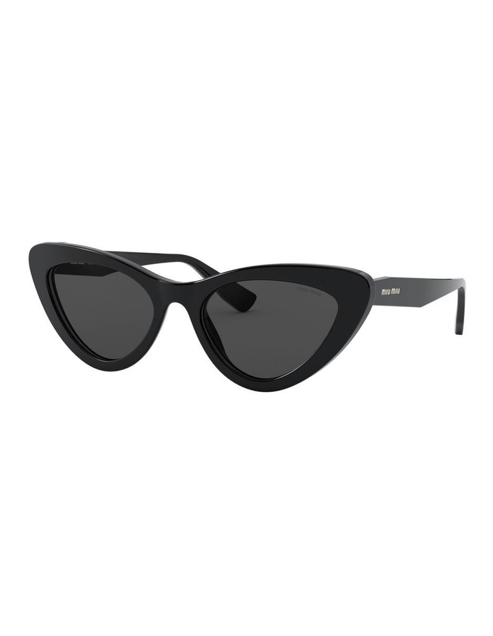 Grey Cat Eye Sunglasses 0MU 01VS 1526556001 image 1