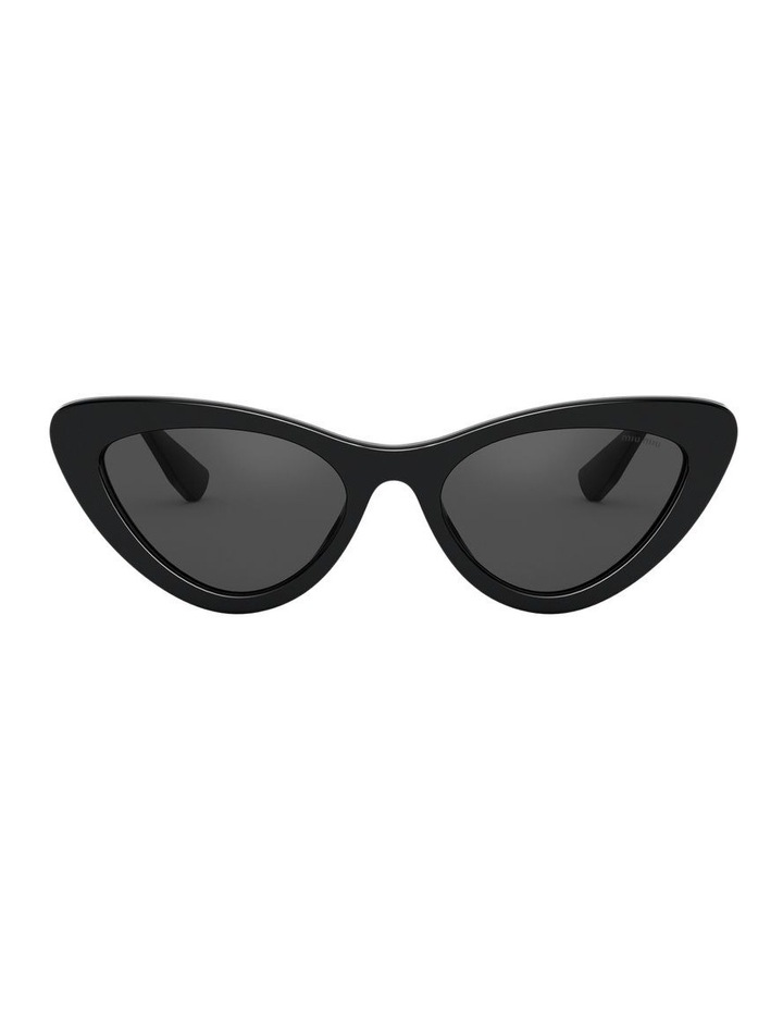 Grey Cat Eye Sunglasses 0MU 01VS 1526556001 image 2