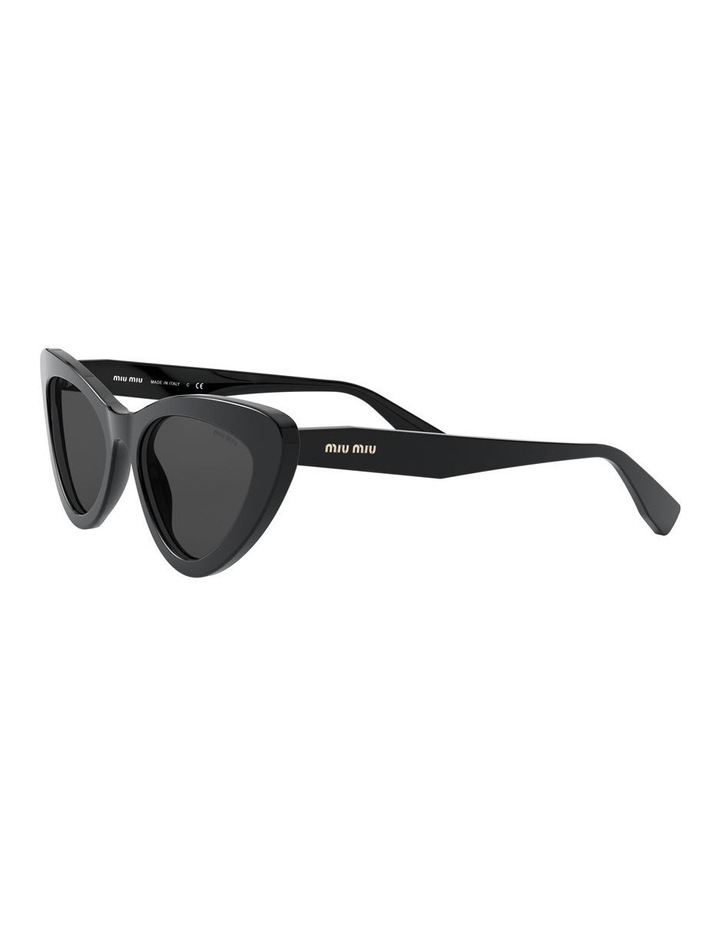 Grey Cat Eye Sunglasses 0MU 01VS 1526556001 image 3
