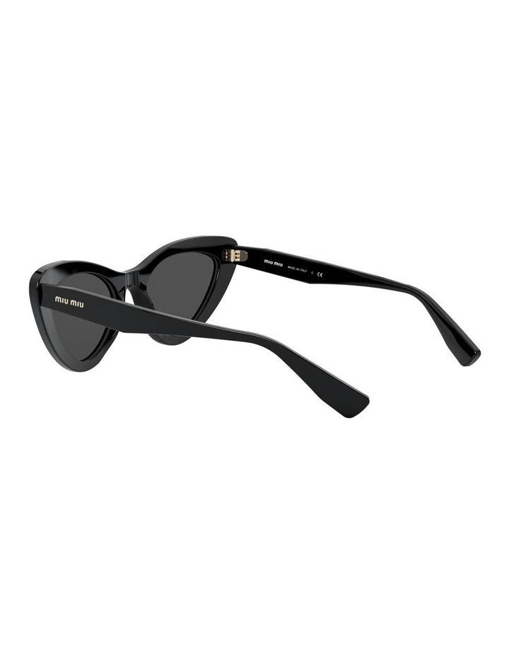 Grey Cat Eye Sunglasses 0MU 01VS 1526556001 image 5