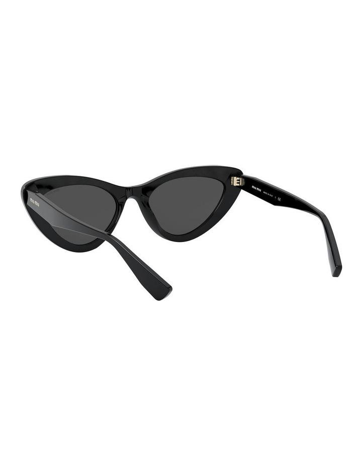 Grey Cat Eye Sunglasses 0MU 01VS 1526556001 image 6