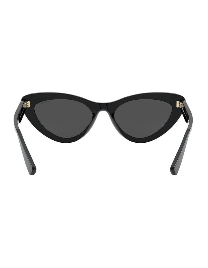 Grey Cat Eye Sunglasses 0MU 01VS 1526556001 image 7