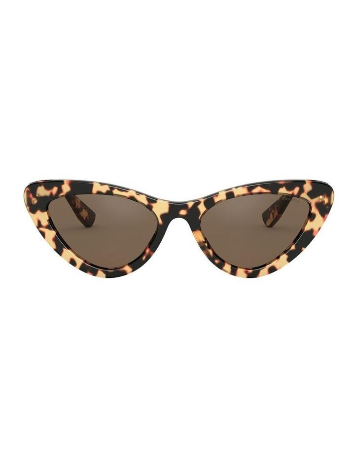 Brown Cat Eye Sunglasses 0MU 01VS 1526556002 image 2