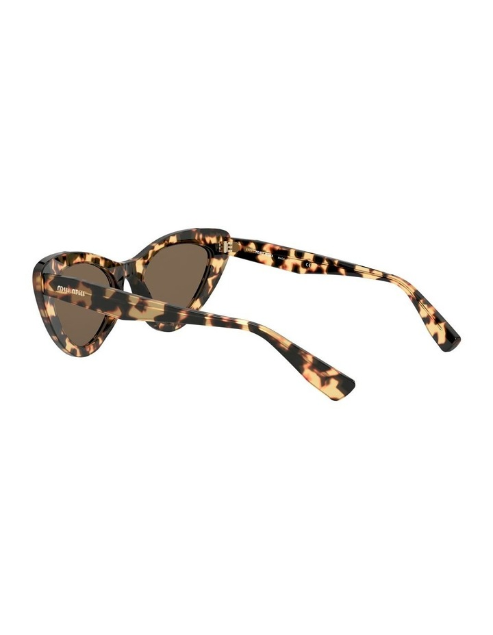 Brown Cat Eye Sunglasses 0MU 01VS 1526556002 image 5