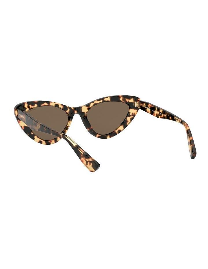 Brown Cat Eye Sunglasses 0MU 01VS 1526556002 image 6