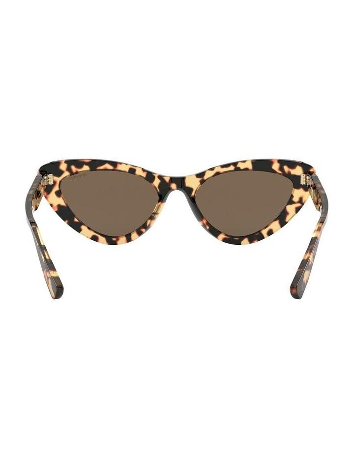 Brown Cat Eye Sunglasses 0MU 01VS 1526556002 image 7