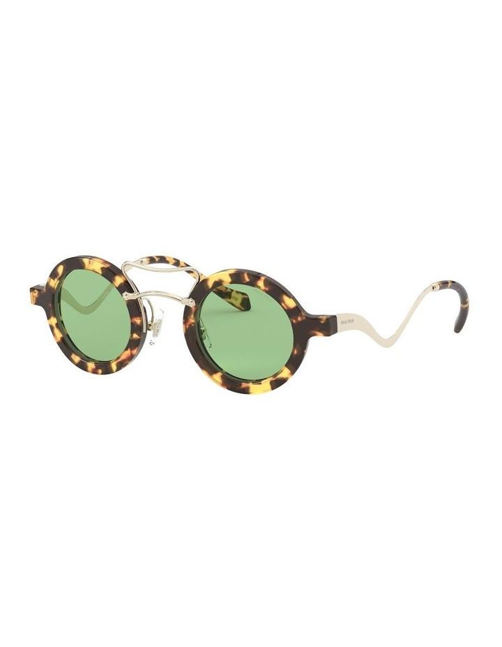Green Round Sunglasses 0MU 02VS 1526705003 image 1