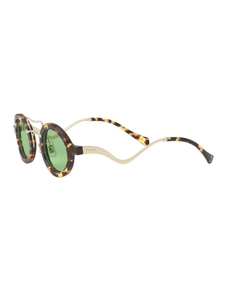 Green Round Sunglasses 0MU 02VS 1526705003 image 3