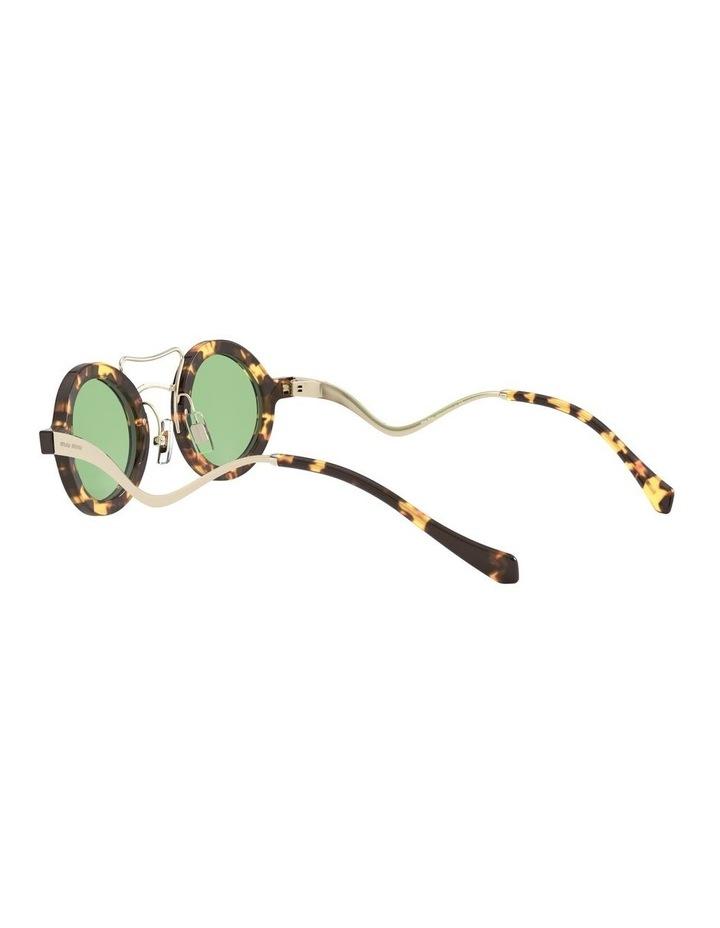 Green Round Sunglasses 0MU 02VS 1526705003 image 5