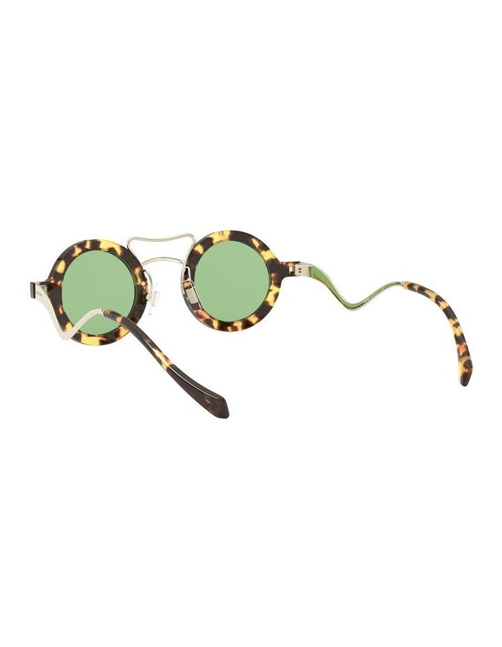 Green Round Sunglasses 0MU 02VS 1526705003 image 6