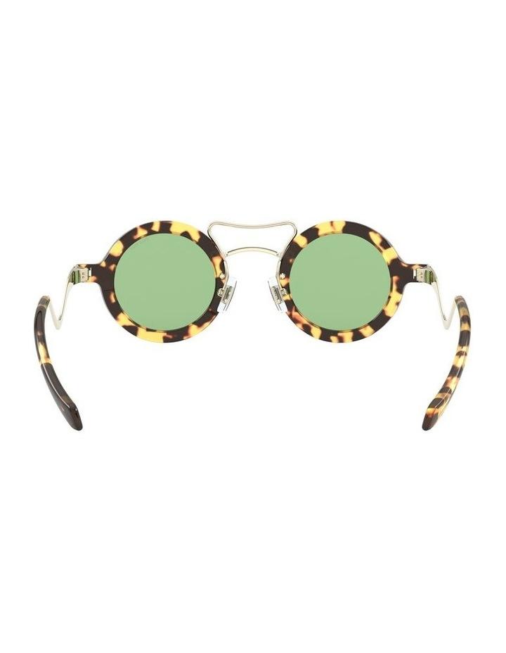Green Round Sunglasses 0MU 02VS 1526705003 image 7
