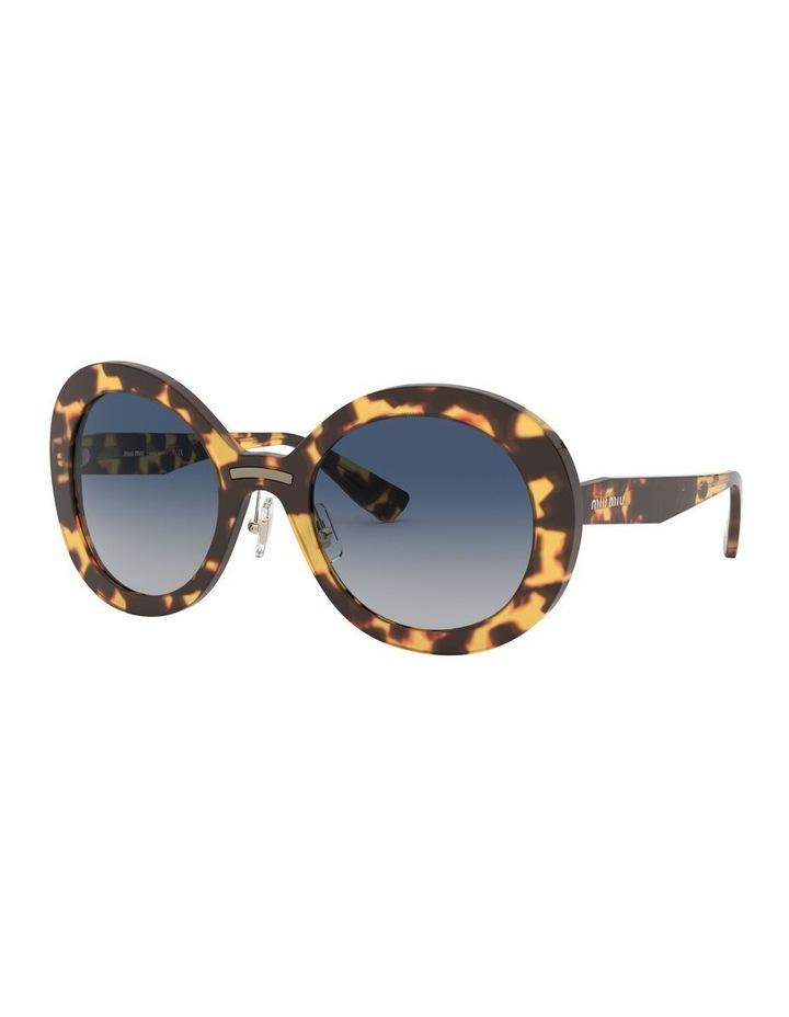 Blue Round Sunglasses 0MU 04VS 1527858002 image 1