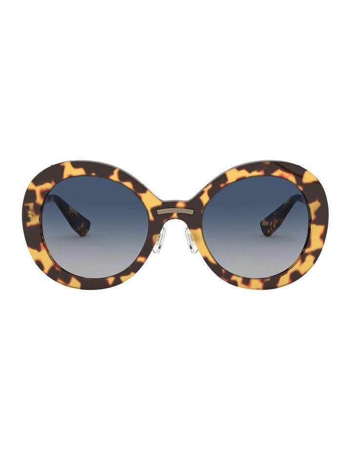 Blue Round Sunglasses 0MU 04VS 1527858002 image 2