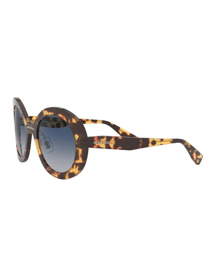 Blue Round Sunglasses 0MU 04VS 1527858002 image 3