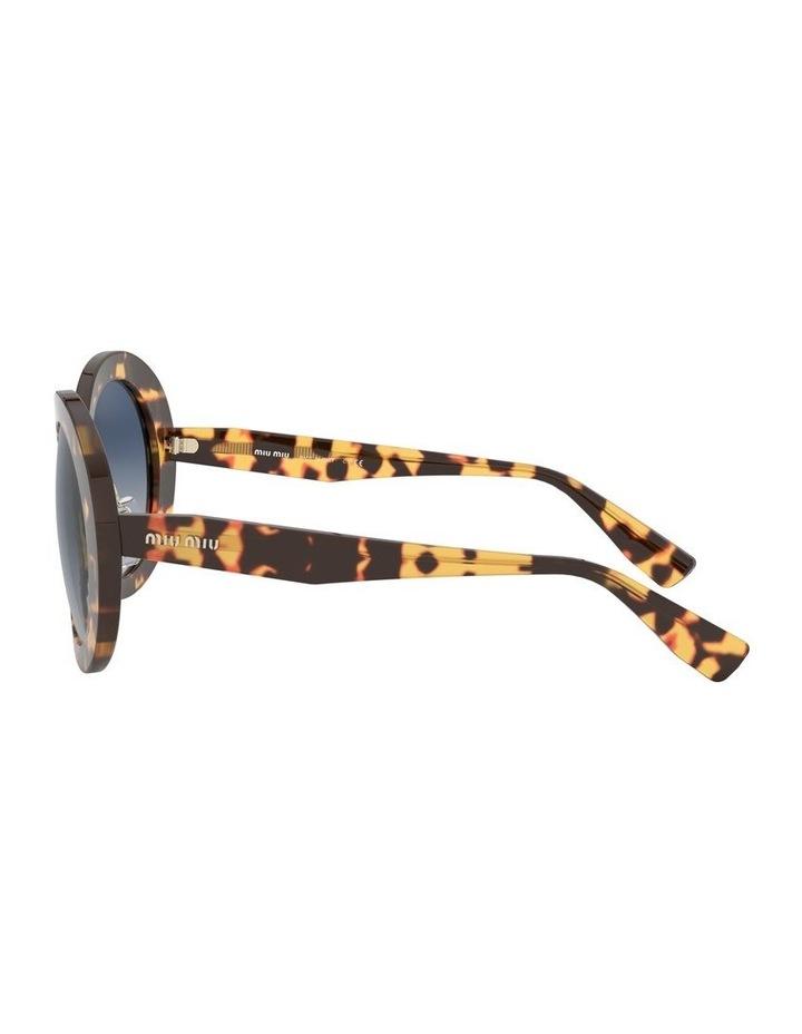 Blue Round Sunglasses 0MU 04VS 1527858002 image 4