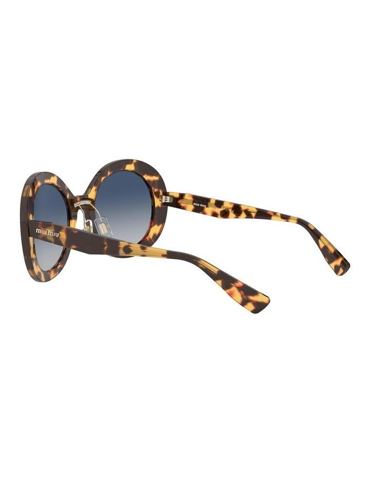 Blue Round Sunglasses 0MU 04VS 1527858002 image 5