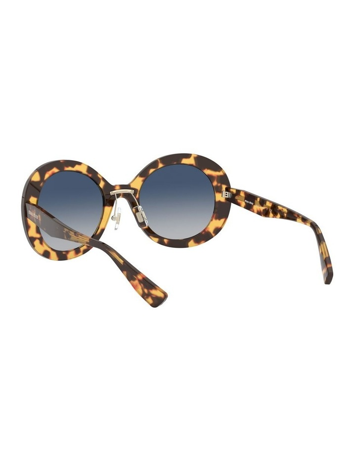 Blue Round Sunglasses 0MU 04VS 1527858002 image 6