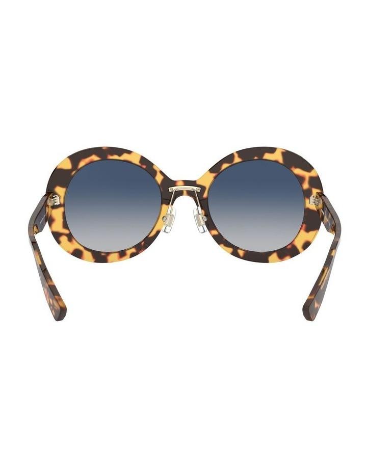 Blue Round Sunglasses 0MU 04VS 1527858002 image 7