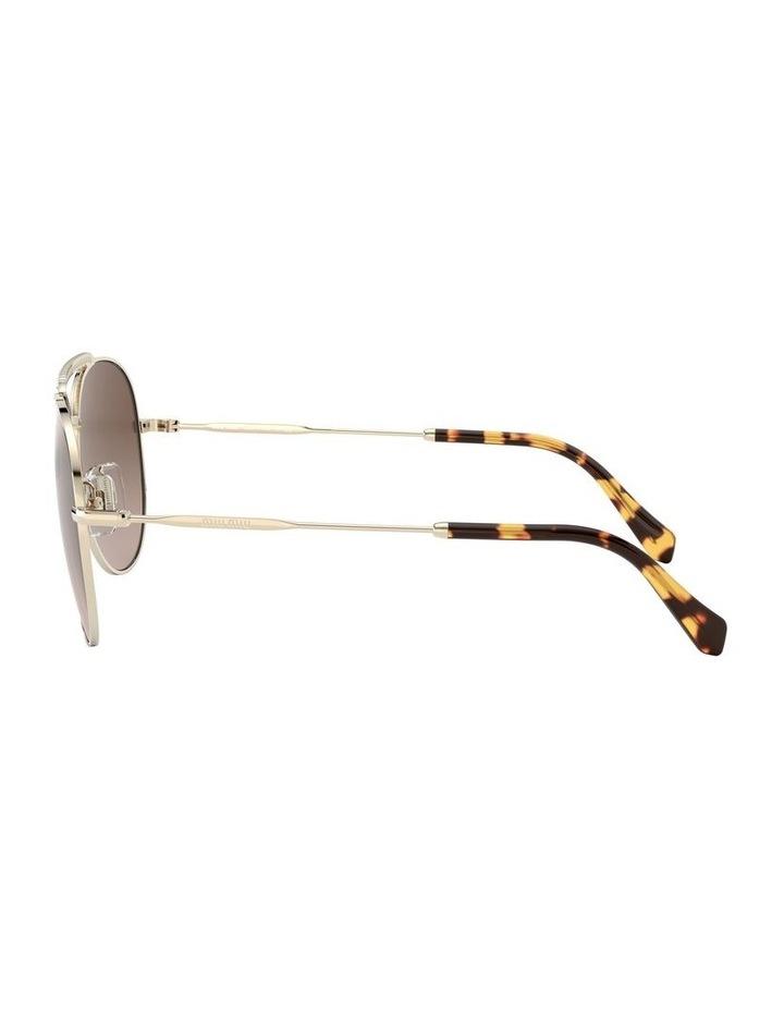 Brown Aviator Sunglasses 0MU 53VS 1527859002 image 4