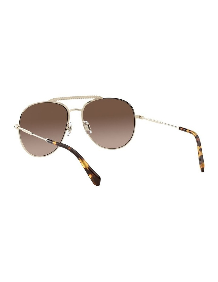 Brown Aviator Sunglasses 0MU 53VS 1527859002 image 6