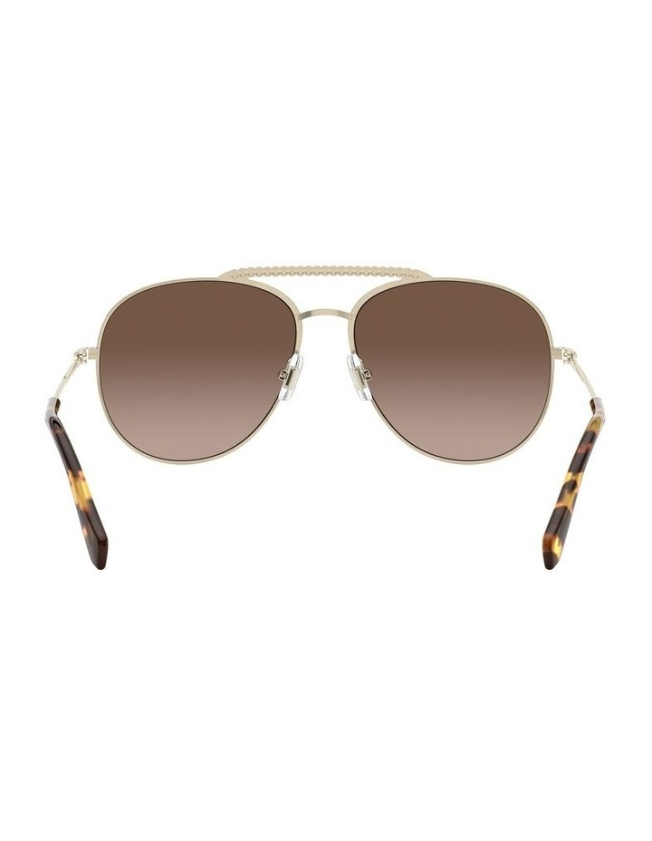 Brown Aviator Sunglasses 0MU 53VS 1527859002 image 7