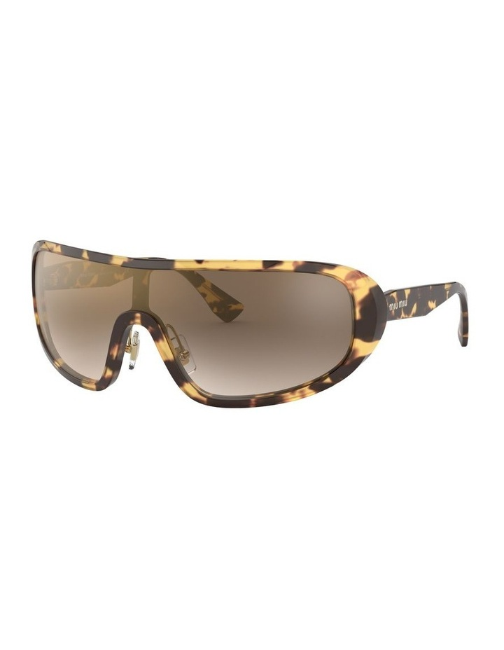 Brown Shield Sunglasses 0MU 06VS 1528378002 image 1