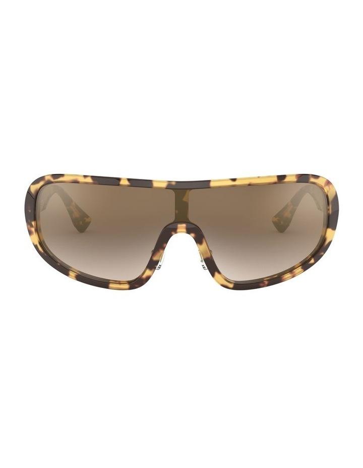 Brown Shield Sunglasses 0MU 06VS 1528378002 image 2