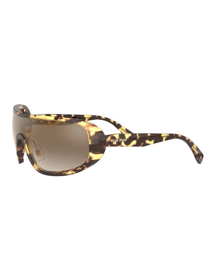 Brown Shield Sunglasses 0MU 06VS 1528378002 image 3
